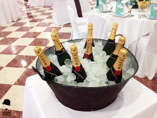 Bandeja champagne